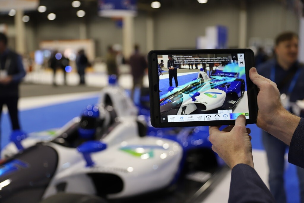 IndyCar Aerodynamics in AR