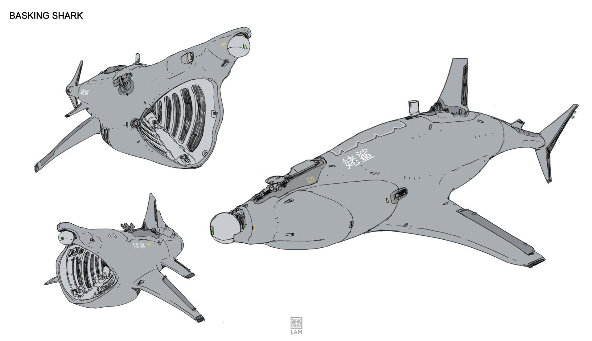 Sheng lam 4 basking shark