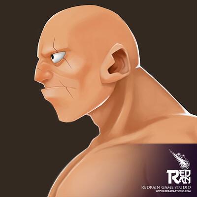 Redrain game studio bald