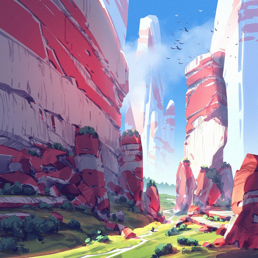 Square landscapes 3