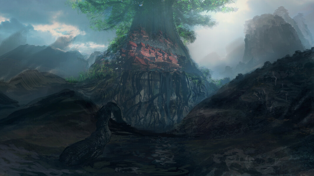 Tree City lies ahead