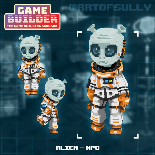 Alien - NPC (asset for 'Game Builder')