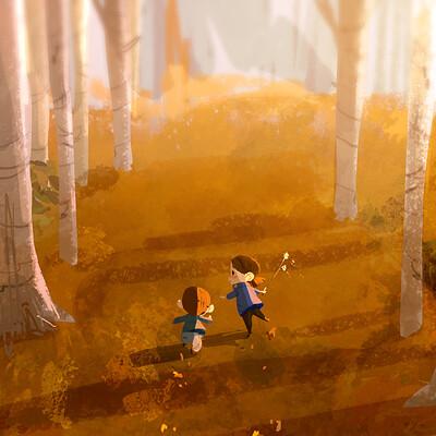 Alvaro ramirez forest run 1