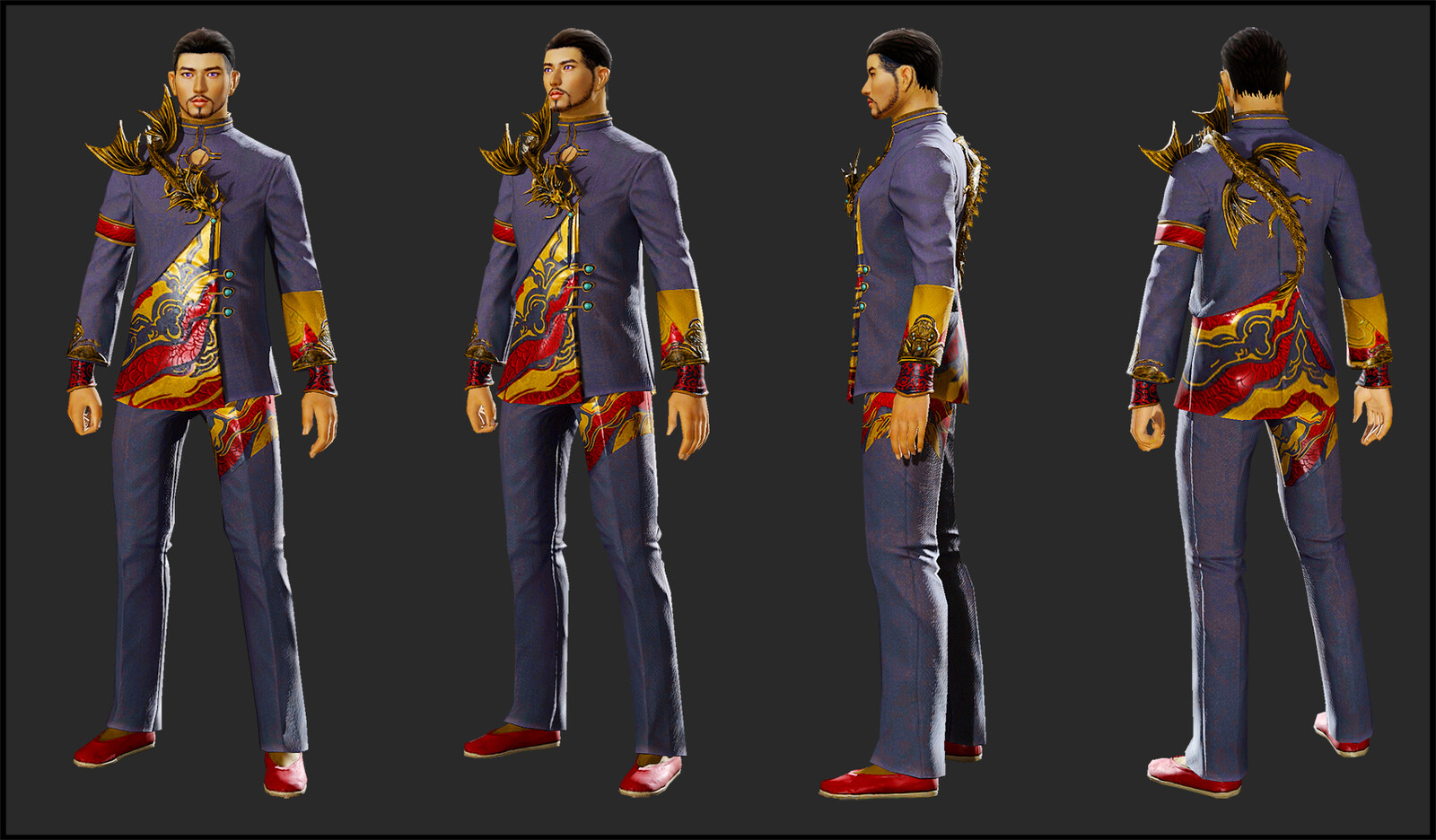 GW2 Outfit, 15,000 tris