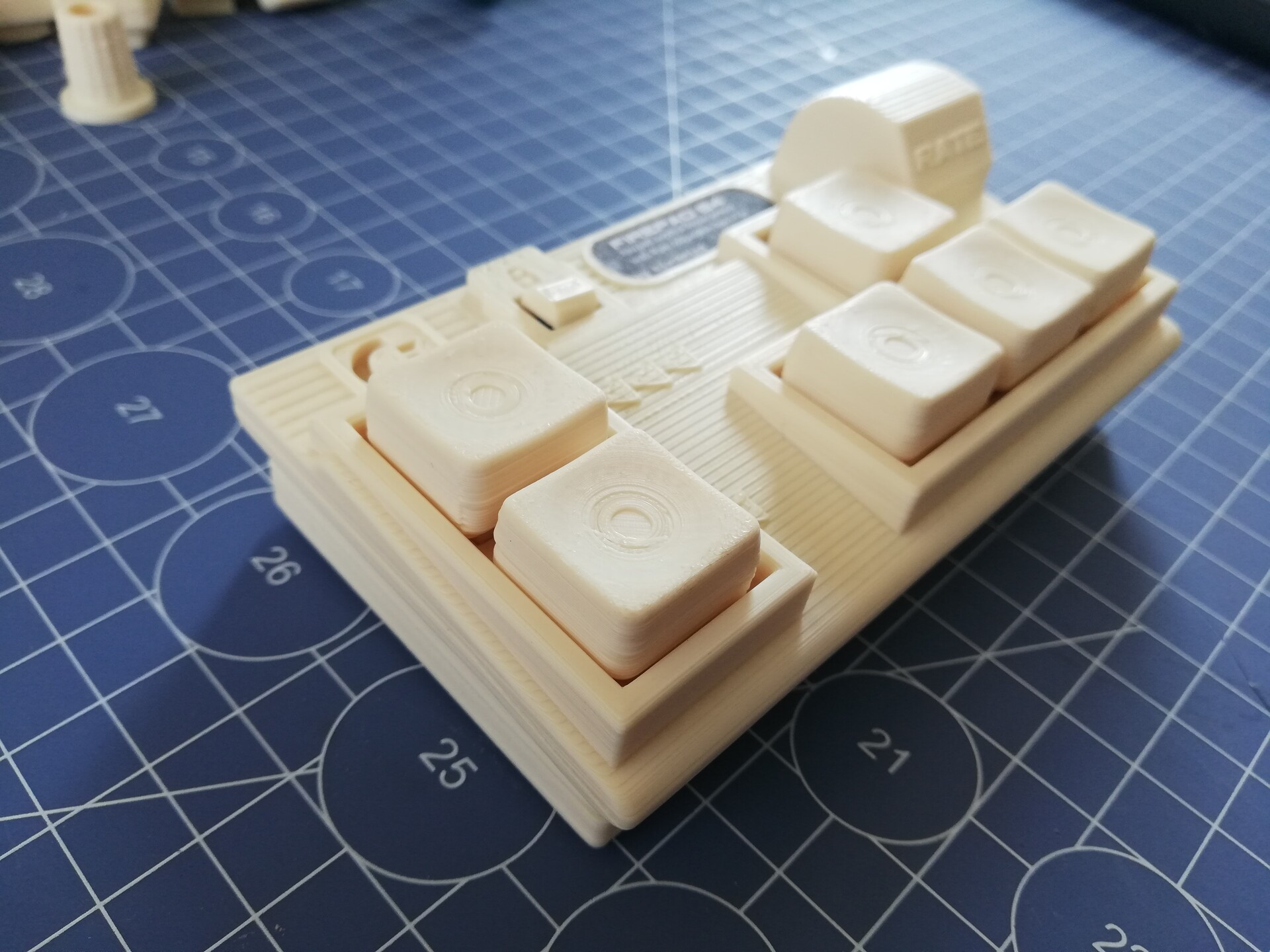 Photo of the 3d printed prototype