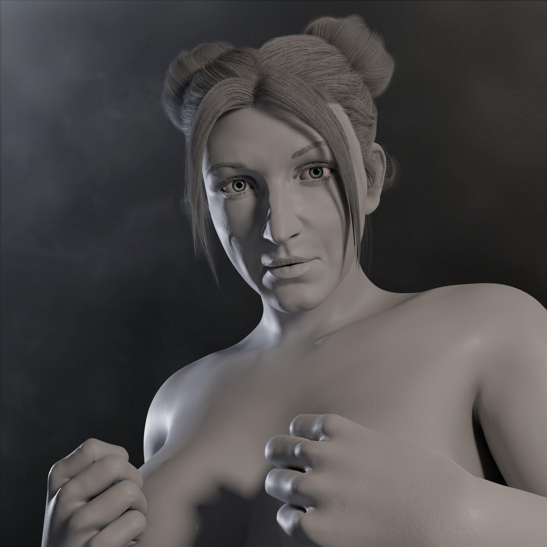 Sergi camprubi clay render 03