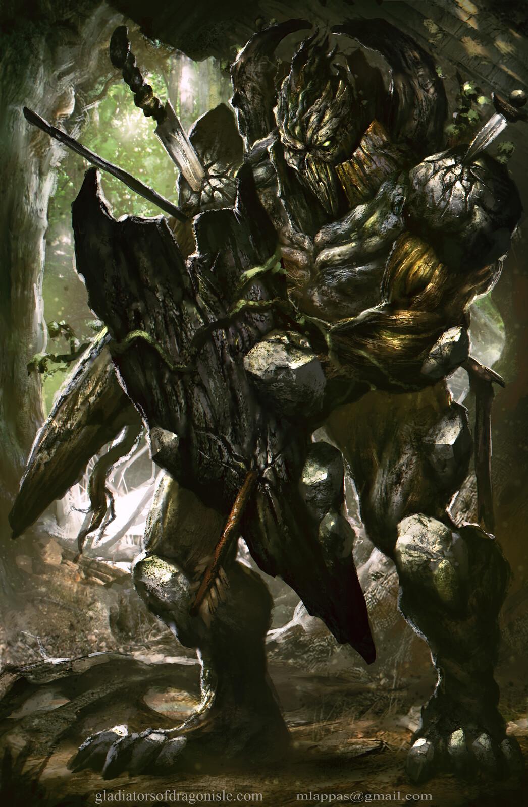Kaan- Gladiators of Dragon Isle