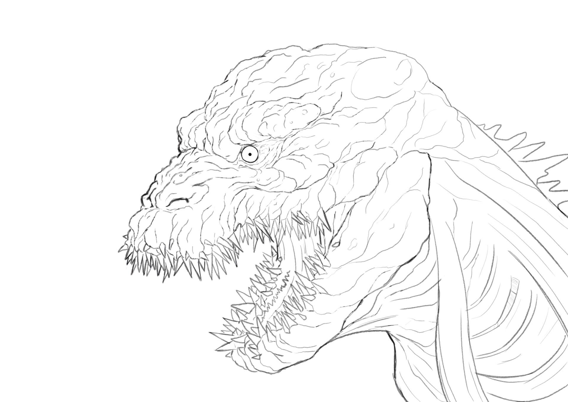 Art Sketch Shin Godzilla