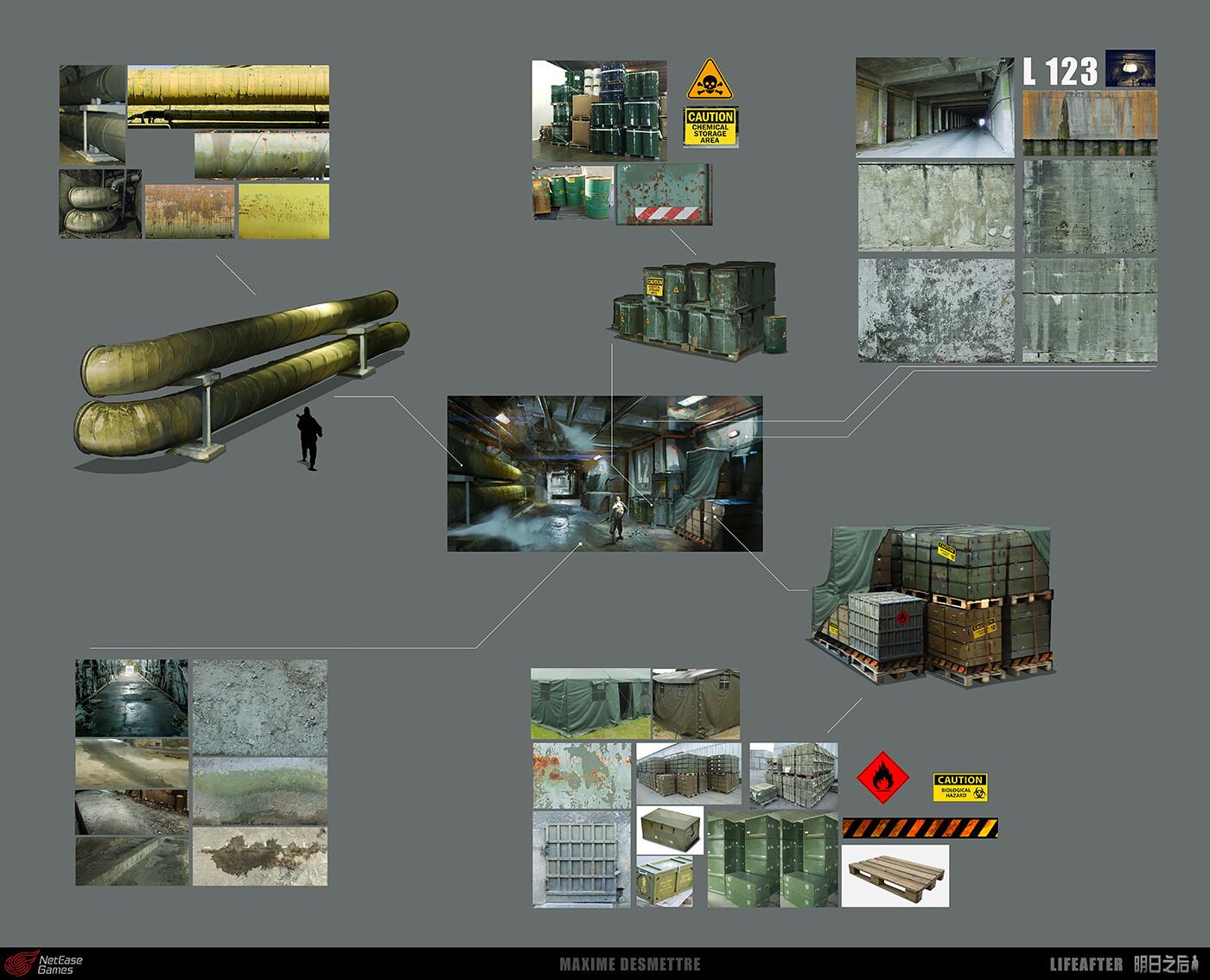 Life After : Lab Corridor - Details (2017)