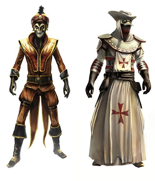 Artstation Assassin S Creed Multiplayer Art Director