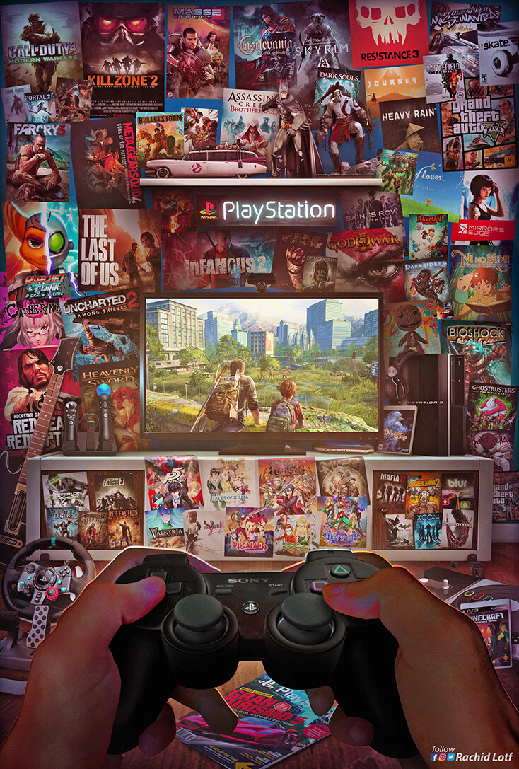 Rachid Lotf - Playstation 3 - The Last of Us