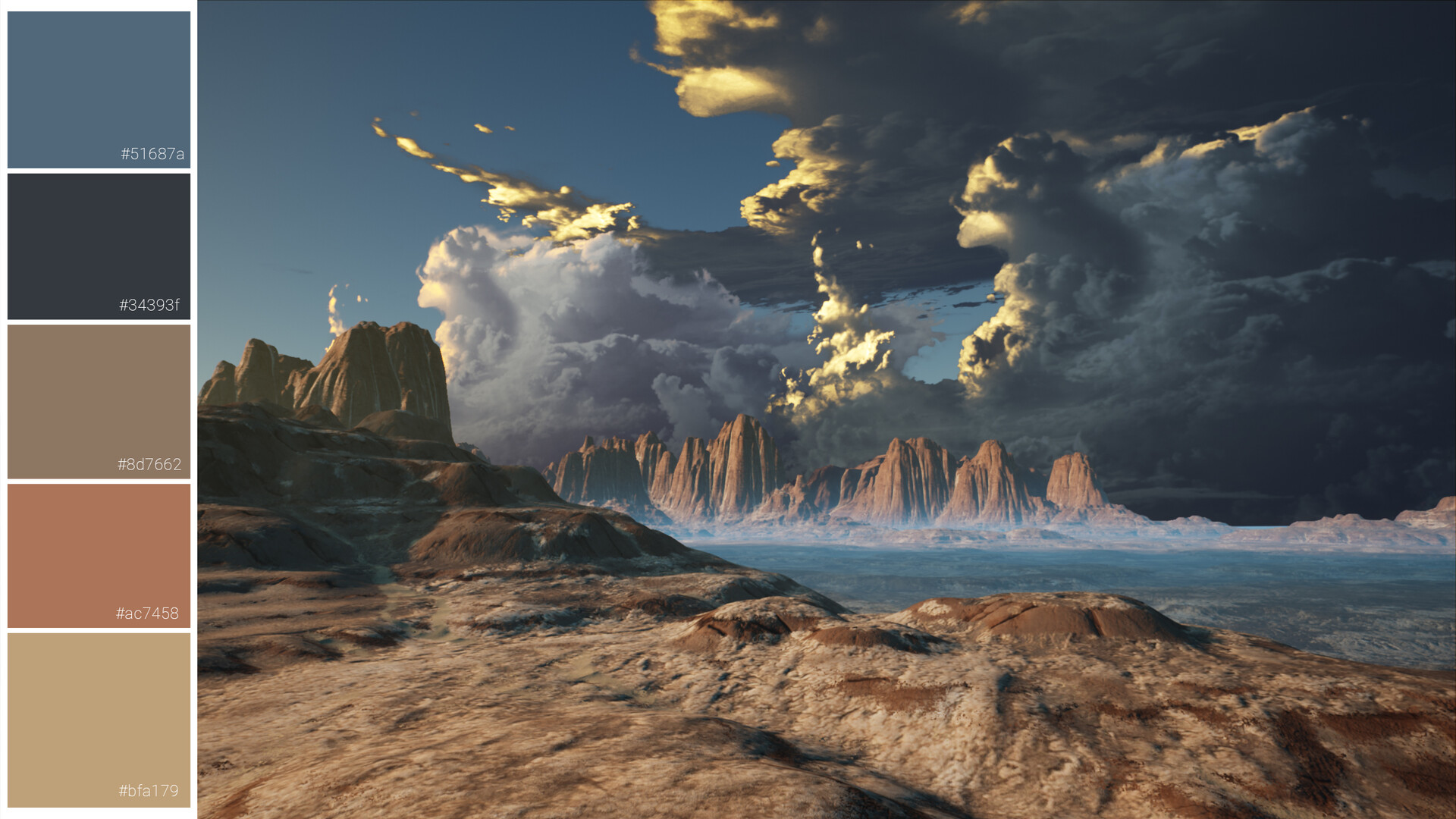 Environment shot from Unreal Engine