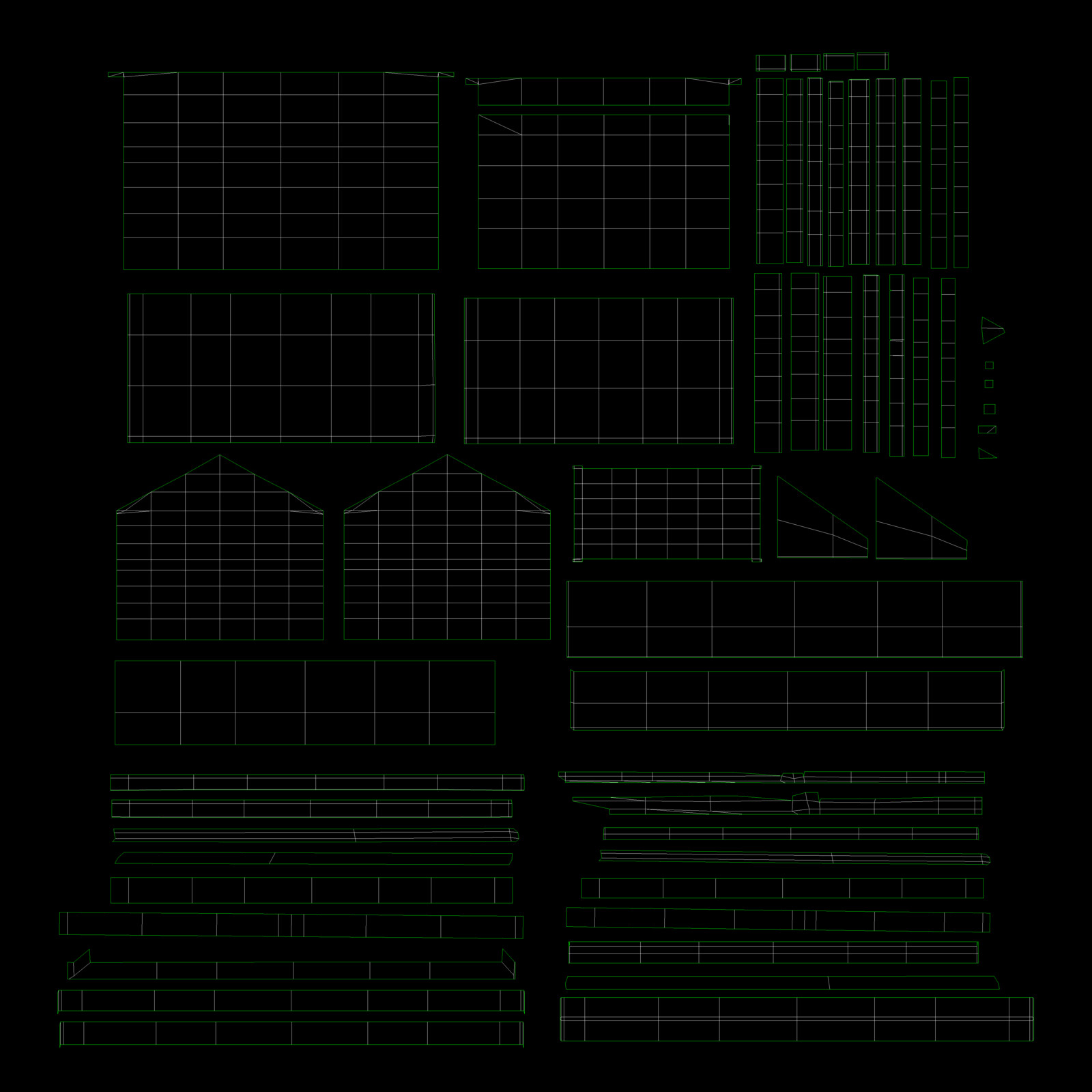 Cabin UV Map
