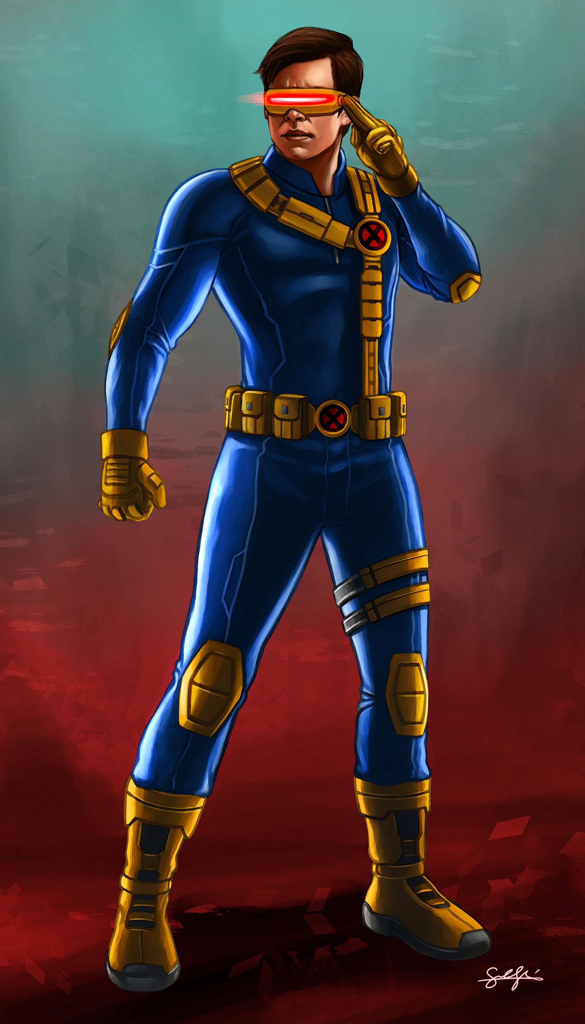 Artstation X Men Cyclops Samuel Shin