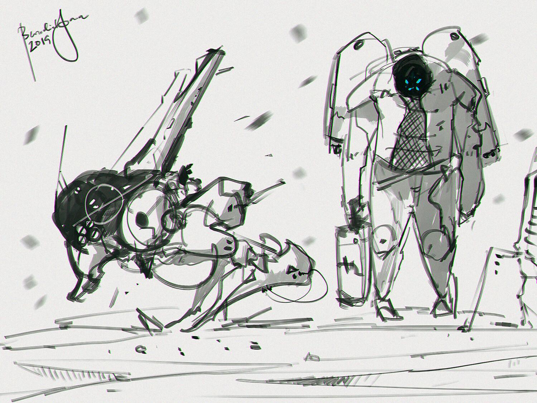 Space Sketch Saturday