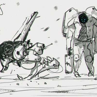 Benedick bana space sketch final lores