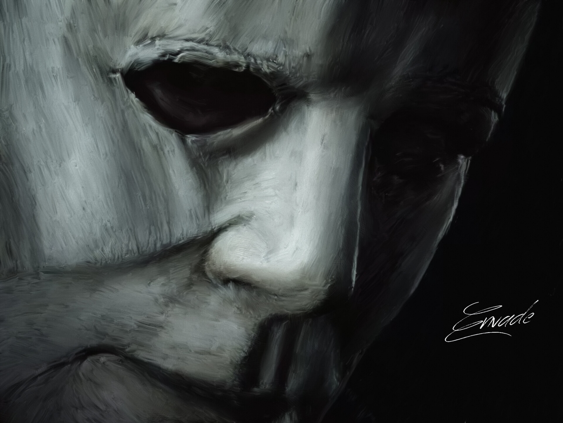Artstation Michael Myers Fan Art Envade Art