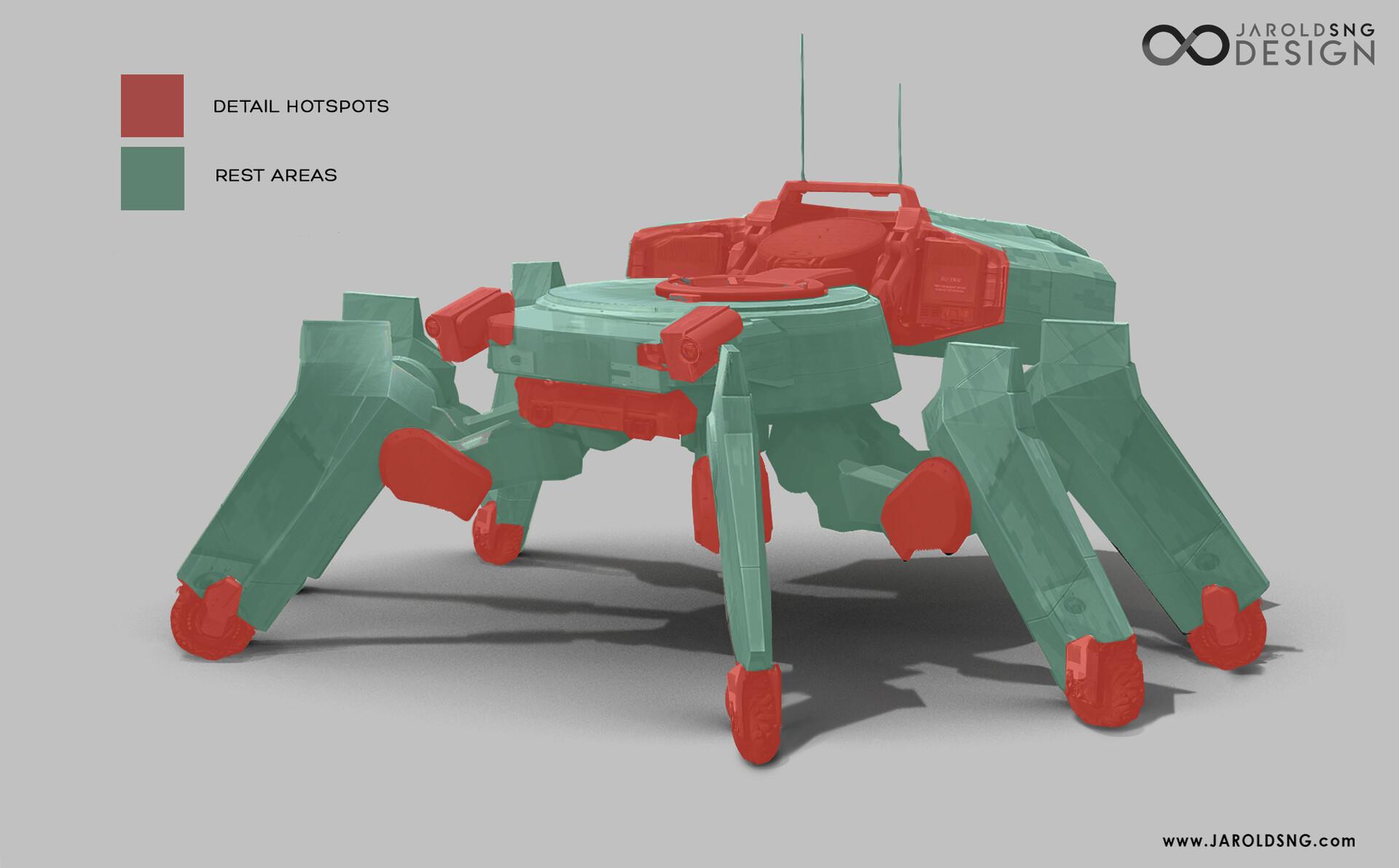 Jarold sng spider tank concept breakdown 3