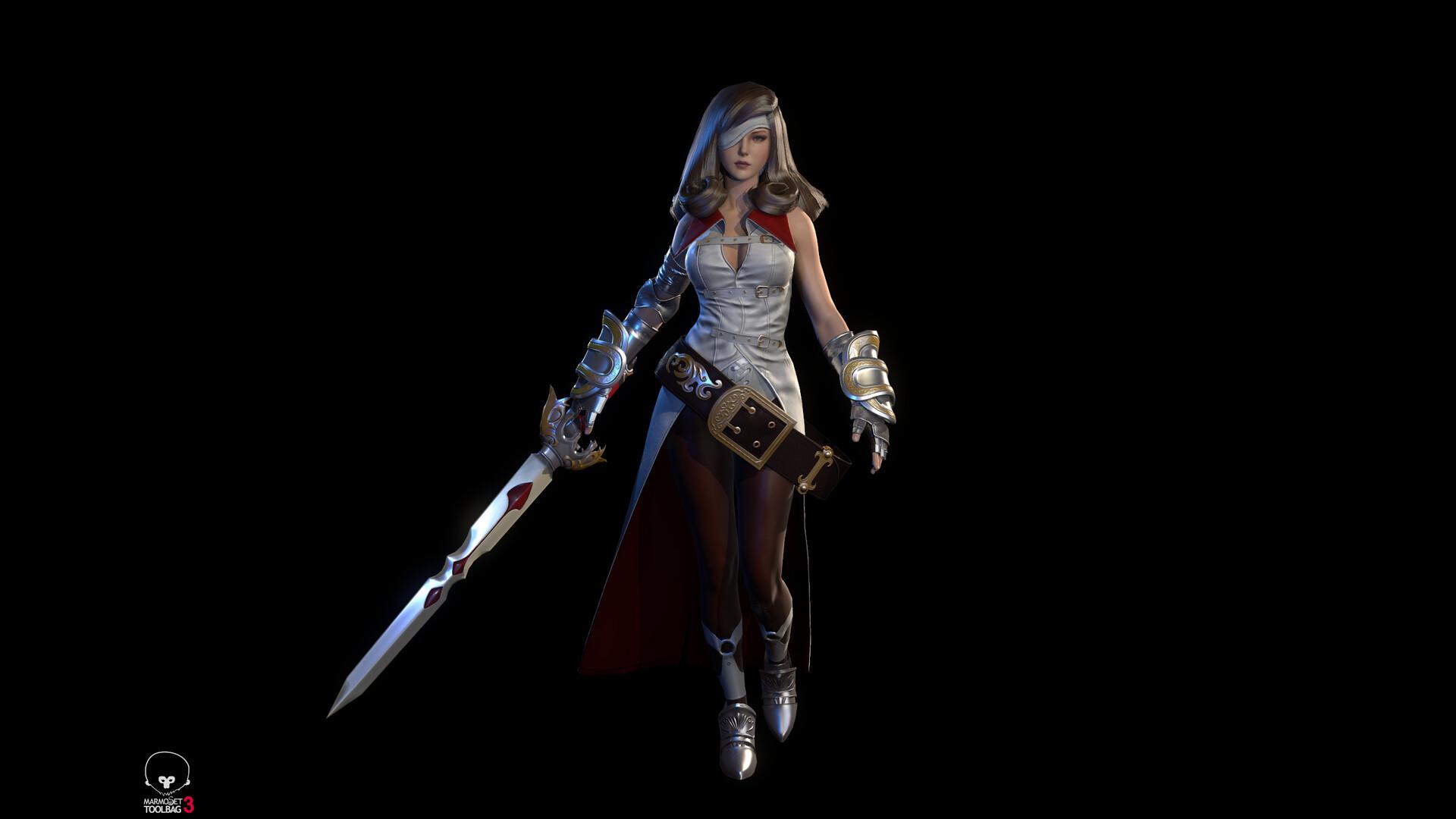 Artstation Final Fantasy Ix Beatrix Chen Weipeng