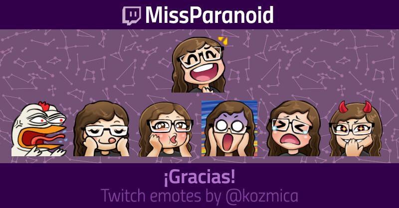 ArtStation - Emotes for Twitch, Kozmica Art