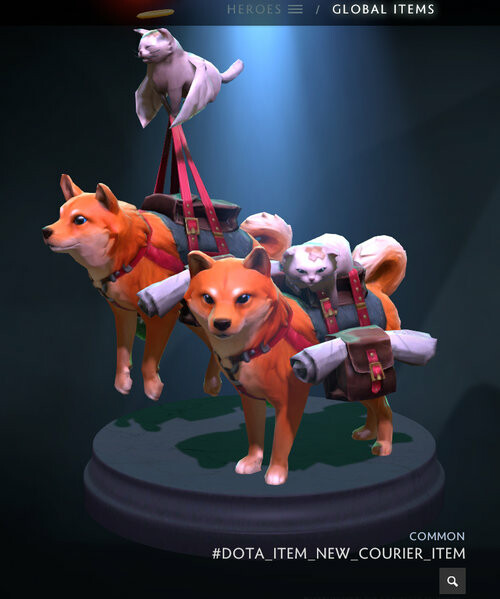 V002 - Before being accepted, valve requested the style of the dog be made cuter.