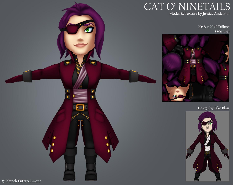 ArtStation - Cat O' Ninetails, Jessica Anderson