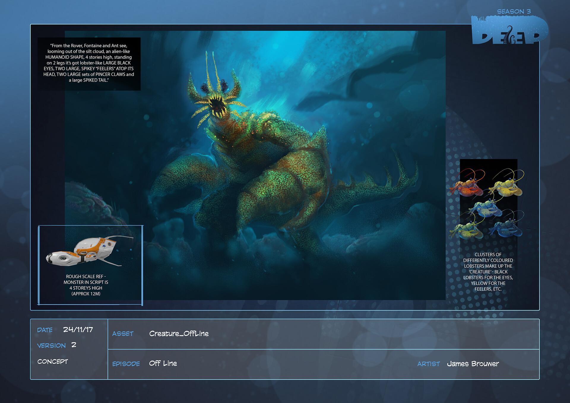 James brouwer creature offline design v002