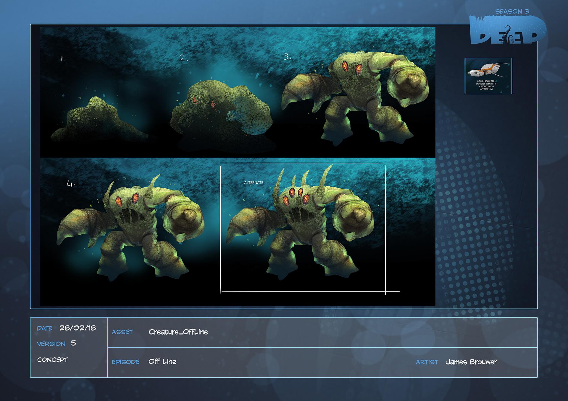 James brouwer creature offline design v005
