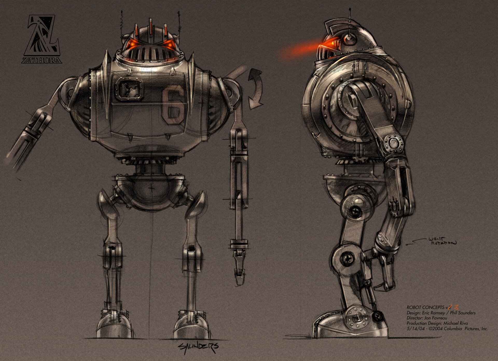 The final robot design.