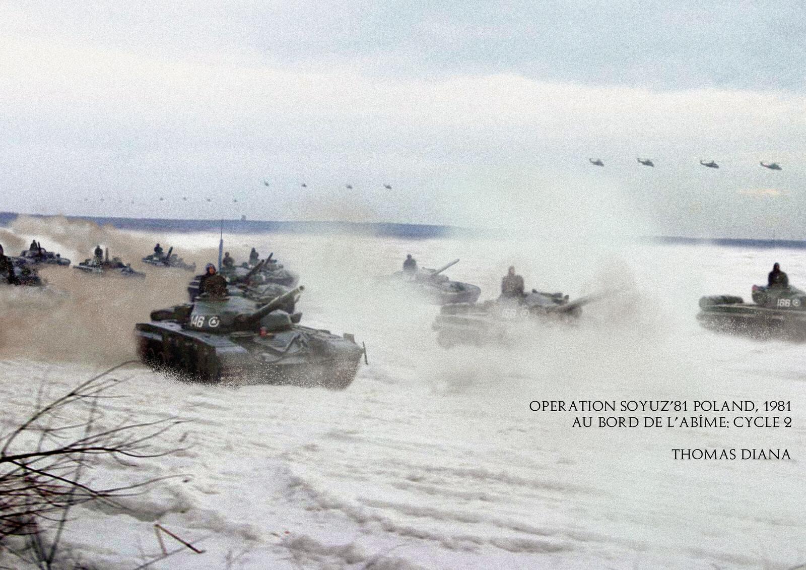 Soivet troops entering eastern Poland