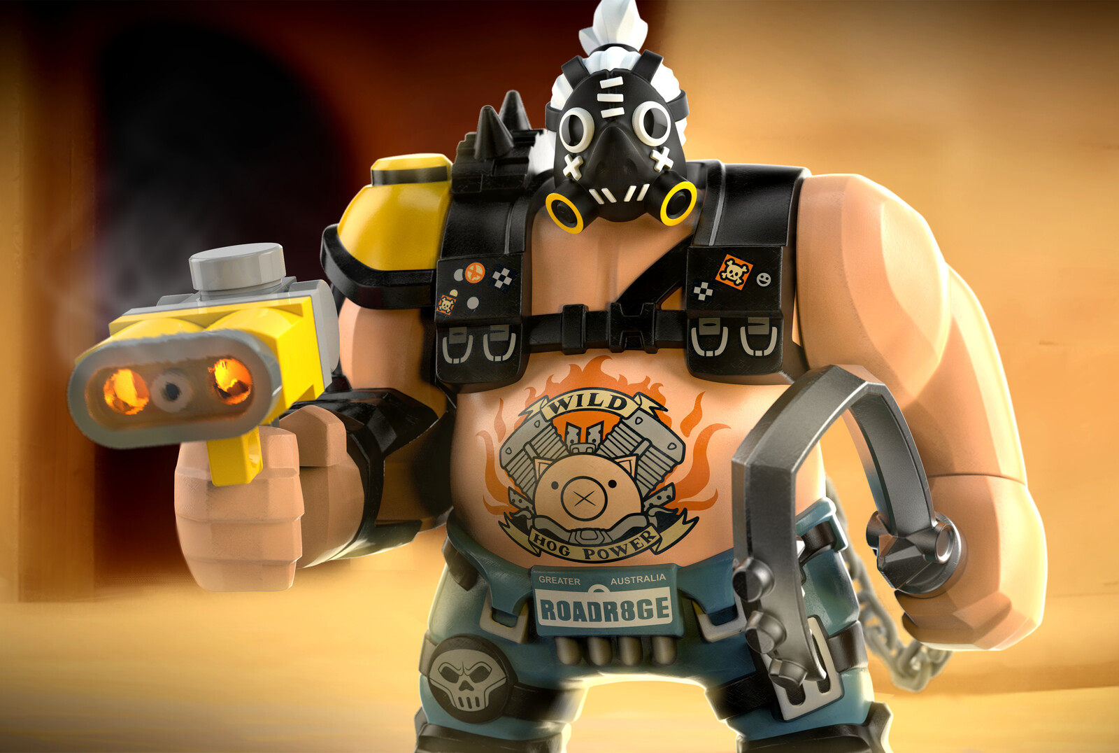 Lego Overwatch Roadhog