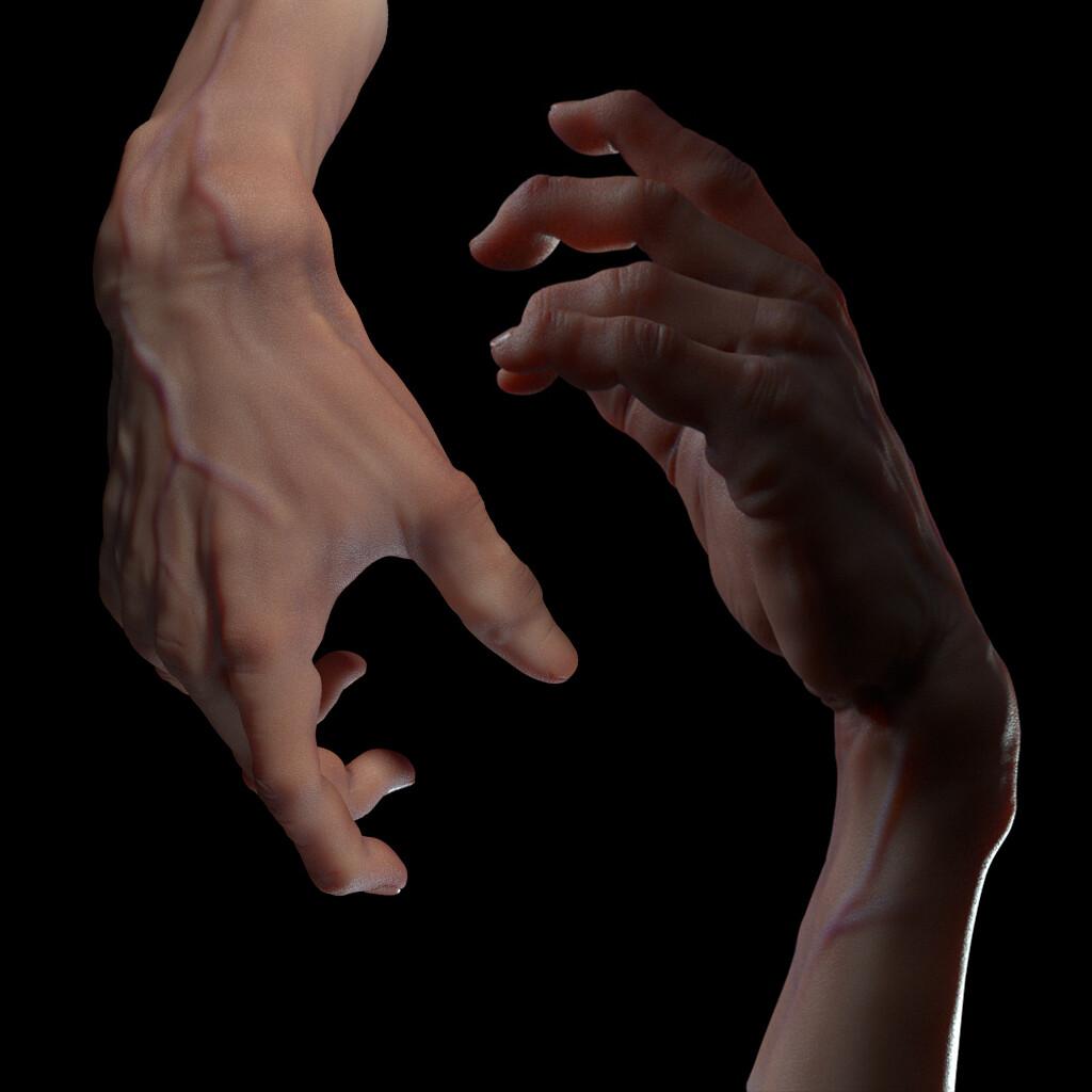 Ilai perez hand thomb