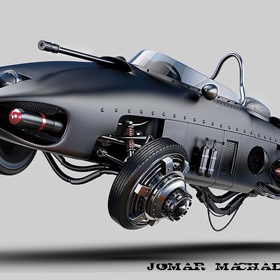 Jomar machado 06 ferrari shark nose post apocalyptic version