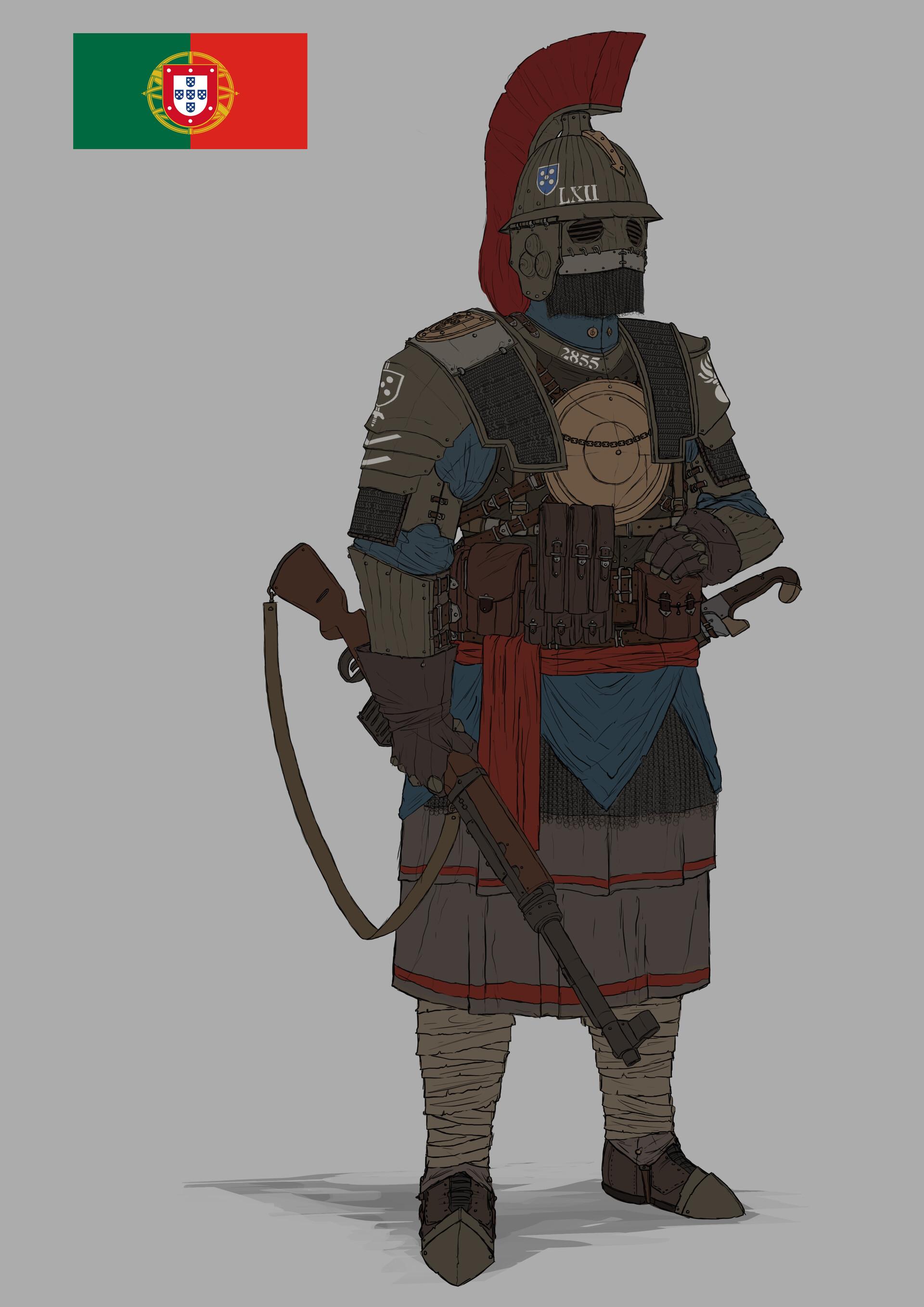 Ww1 Dieselpunk Soldier