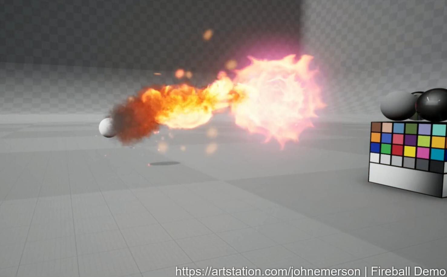 John emerson john emerson fireball closeup
