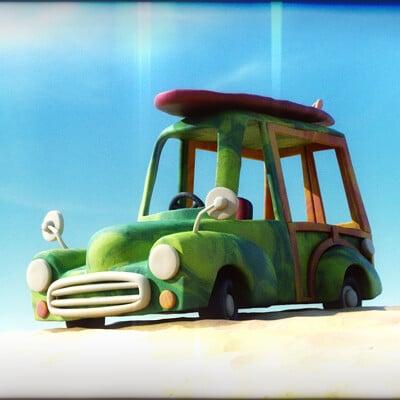 Martin guldbaek surfmobile