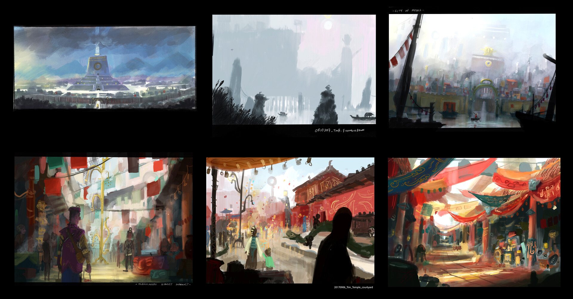 Tim holleyman colour thumbnails