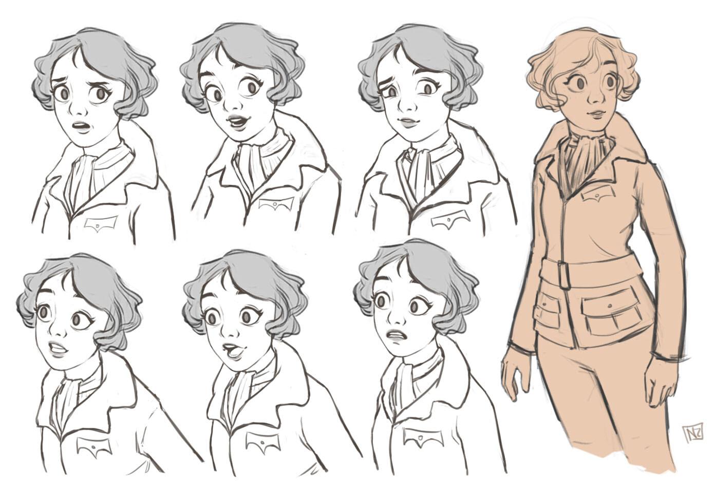 Amelia Earhart Art Project