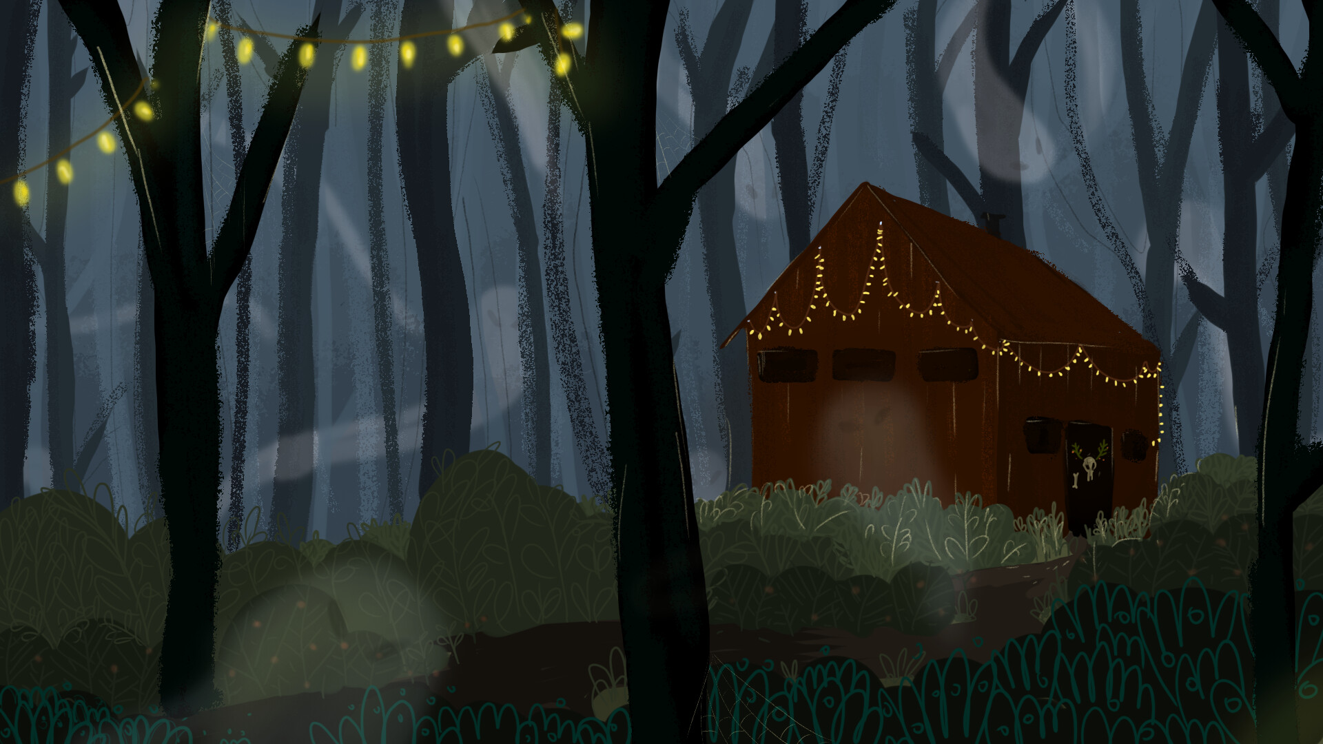 Liya Malysheva - mystical house for scary story