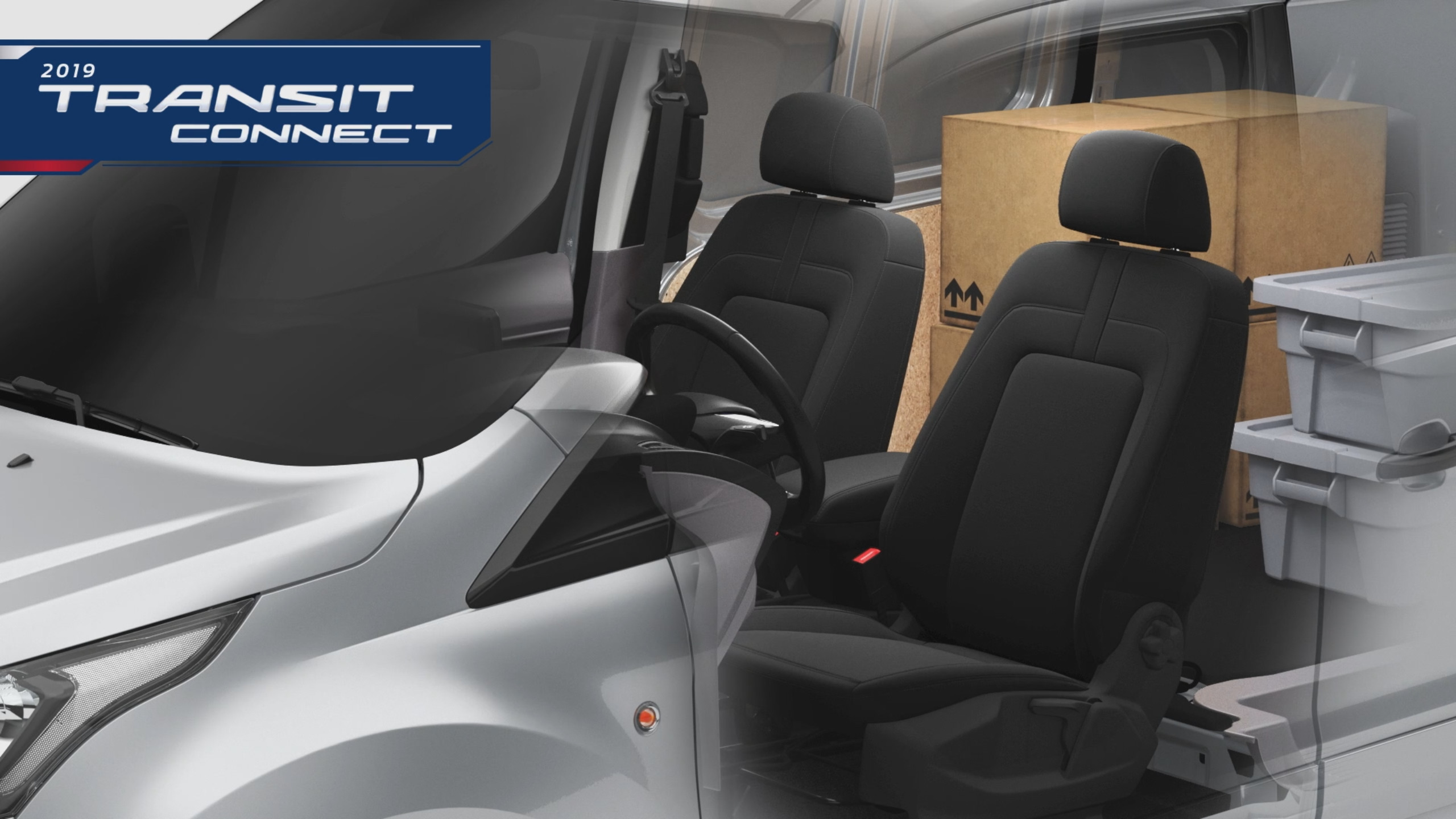 2019 Ford Transit Connect Animation