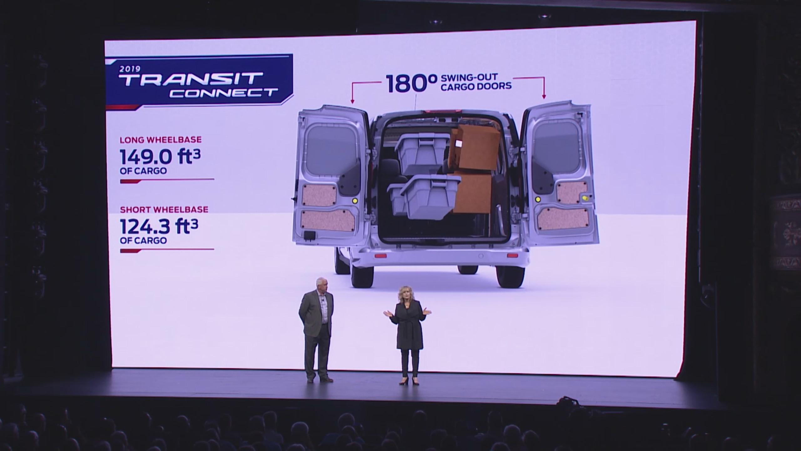 2019 Ford Transit Connect Live Presentation
