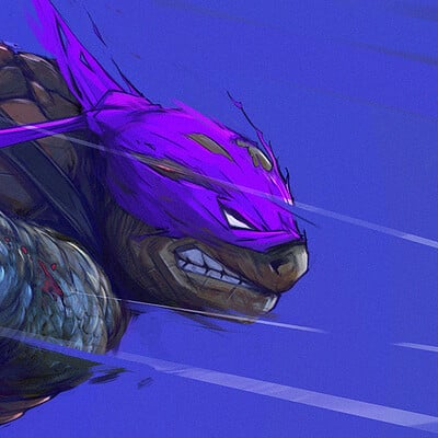 Romain lefevre tmnt donatello