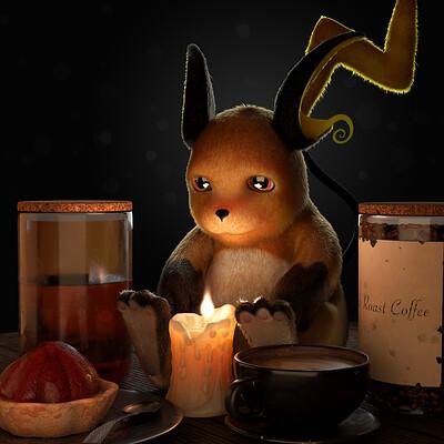 Raichu (Pokemon Fan Art)