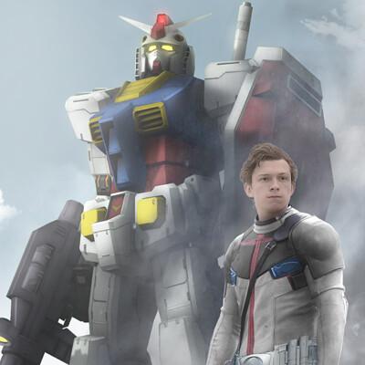 Film bionicx gundam movie poster offi