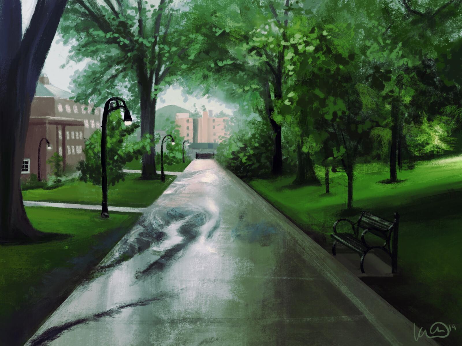 Campus Rain
