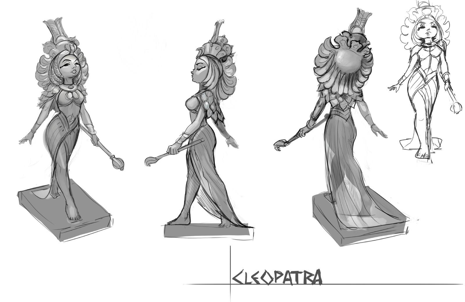 cleopatra concept