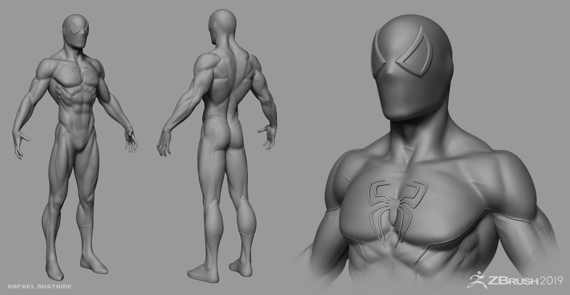 Spider-Man Zbrush