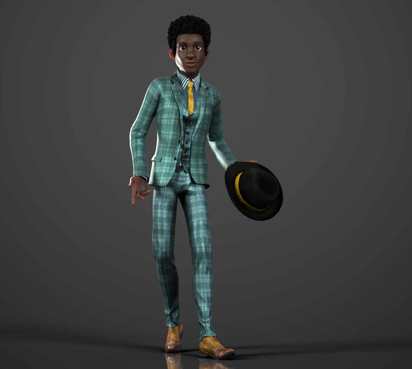 CC3 Adam - Outfit Ideas