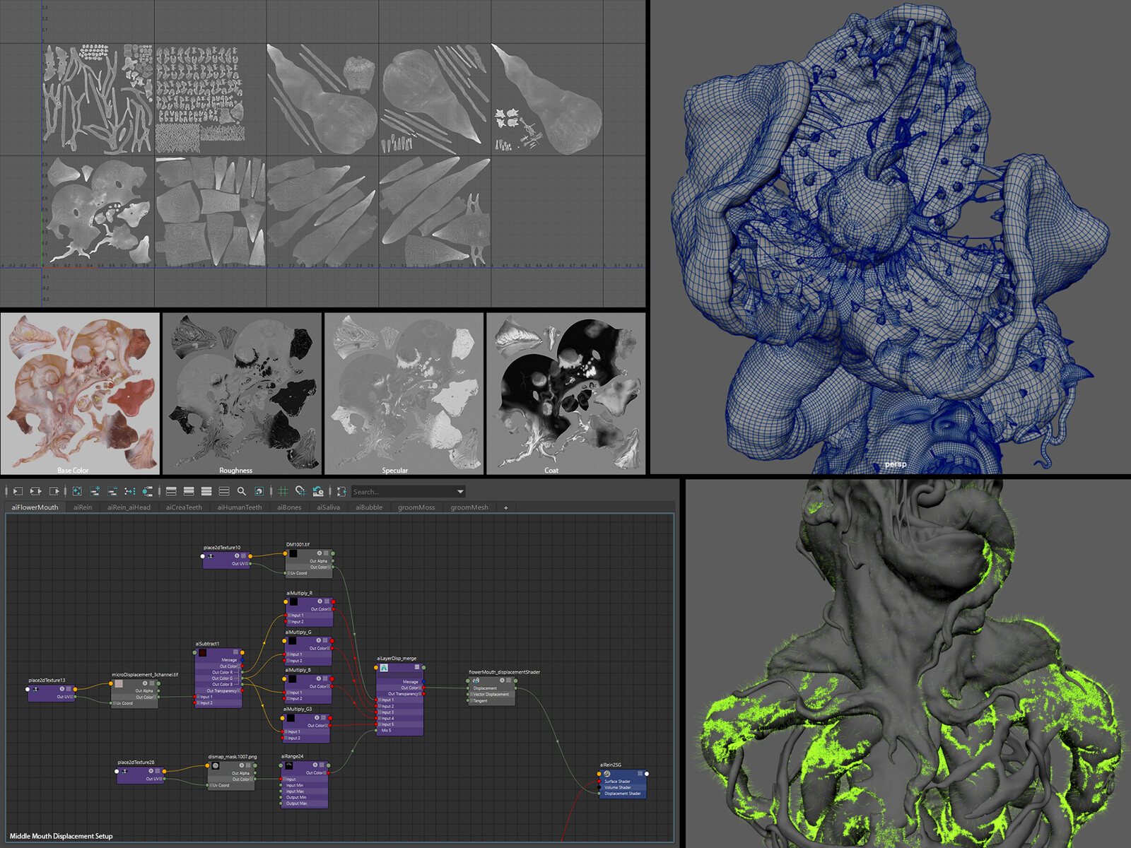 Maya screenshots