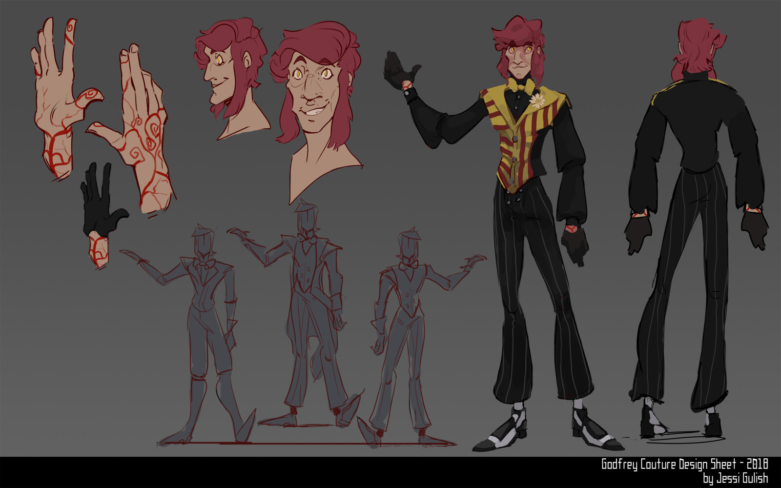 Godfrey Couture Character Design